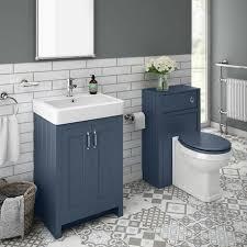 sworth traditional blue sink vanity