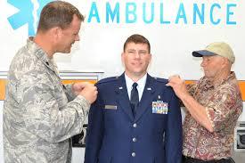 enlisted air force ranks com lt col dr joseph pocreva left and dean kalinauskas