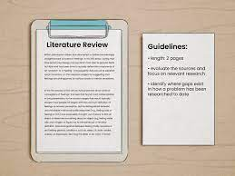 a literature review for a research paper