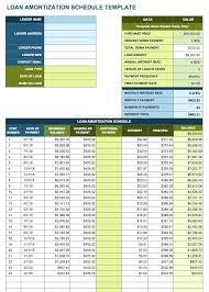 Loan Amortization Calculator Annual Payments Free Loan Amortization Template Debt Table Refinance Schedule