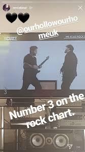 Scuzz Rock Chart Josh White Josh_ohoh Twitter