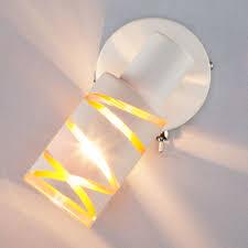 <b>Белый</b> настенный светильник <b>спот</b> с поворотным плафоном ...