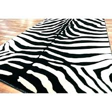 animal print area rugs jungle themed zebra skin rug black target rect