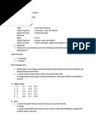 Soal dan kunci jawaban buku siswa kelas 5 tema 7 subtema 1 pembelajaran 2 buku belajar kunci jawaban agama islam kelas 9 halaman 153 156jawaban buku paket agama kelas 9 halaman 153 156. Kunci Jawaban Biologi Kelas 10 Evaluasi Dan Esai Bab 8 Kunci Soal