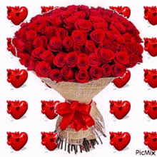 Pictures Of Hearts And Flowers Hearts And Flowers Gifs Tenor