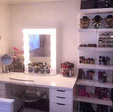organized makeup desk vanity eur save  save