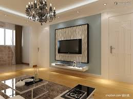 Living Room Wall Design Gypsum Board Tv Background Wall Renovation Renderings Tv Wall