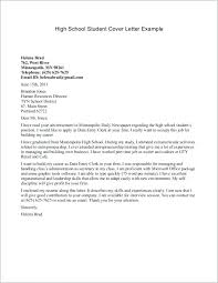 Cover Letter Student Resume Cover Letter Examples For Students Cover
