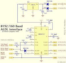gm 8192 160 baud aldl interface