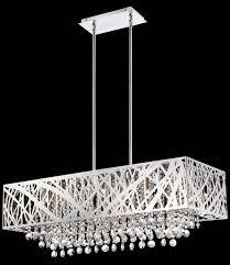 terrific modern rectangular chandelier modern rectangular chandelier rectangle white metal chandeliers with crystal in