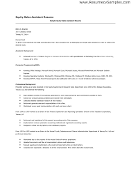 Cover Letter For Sales Assistant With No Experience pertaining to Cover  Letter For Medical Office Assistant