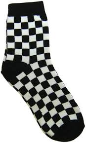 Pin by Mari Morton on SOCKS AND SLIPPERS | Checkered socks, Cool socks,  Socks