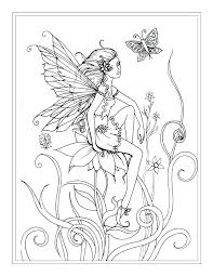 Fantasy Coloring Pages For Adults Beautiful Adult Fantasy Coloring