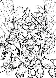Ninja Turtle Free Coloring Pages Iifmalumniorg