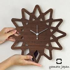 pendulum clock yamato univ art yamato wall hanging pattern clock thorn s clock wall clock pendulum fashion clock wood pendulum wall clock yamato 1 art