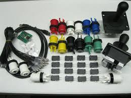 4 Player Arcade Cabinet Kit Arcade Mame 2 Player Usb Kit W 2 Joysticks 4 8 Way 16 Happ