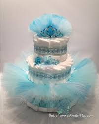 Frozen Princess Diaper Cake Elsa Great Gift Or Centerpiece Etsy