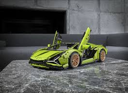 Lego fans already know about lego technic bugatti chiron. Lego Technic Lamborghini Sian Has Scissor Doors Paddle Shifter