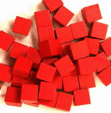 Wooden Game Cubes Inspiration Amazon 32 Red 32mm Wooden Board Game Cubes Toys Games