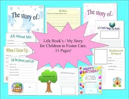 Family Story Book Template My Life Story Template