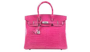 The crocodile-skin Hermes Birkin bag broke the record for the most  expensive handbag sold