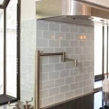 Wonderful Gray Subway Tile Kitchen Backsplash
