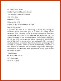 letter of appeal 6 scholarship appeal letter appeal letter
