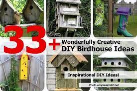 Diy Birdhouse 33 Wonderfully Creative Diy Birdhouse Ideas