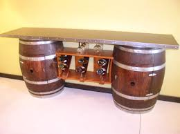 Wine Barrels Furniture Picture