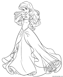 Little Mermaid Coloring Pages To Download And Print For Free 18 167