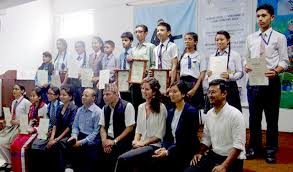 international youth day celebrated awarding essay competition winners