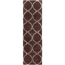 urban lainey brown 2 ft x 10 ft indoor runner rug urban lainey brown