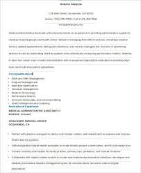Sample Resume For Administrative Assistant 9 Examples In