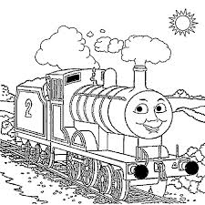 Thomas Train Drawing At Getdrawingscom Free For Personal Use