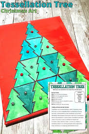 In these geometry worksheets, students identify tessellations and shapes that can form tessellations. Christmas Tree Tessellations Project Free Template Little Bins For Little Hands