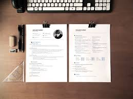 Cv Resume And Cover Letter Template By Designed In Berlin On