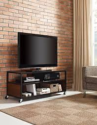 Movable Tv Stand Living Room Furniture Dorel Home Furnishings Cherry Mason Ridge Mobile Tv Stand Home