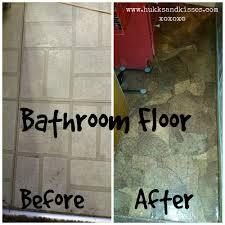 redo bathroom floor. Diy Paper Bag Flooring Redo Bathroom Floor S