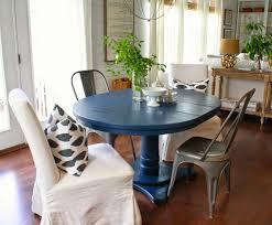 blue kitchen table