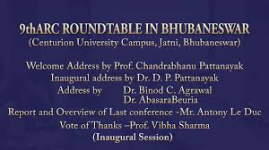 9th arc round table in bhubaneswar inaugural session