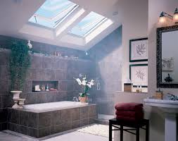 ... Bathroom: Wonderful Skylights For Bathroom Decoration With Pitched Full  size