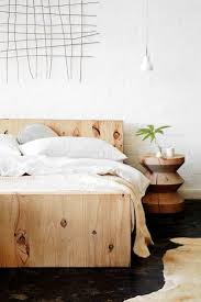 minimalist wood bed, bedroom, home decor, interior design, simplified home,  interiors. Wooden Bed Frame DiyBed Headboard WoodenSimple ...
