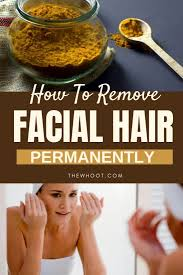 remove hair naturally and