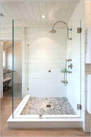 tin shower walls metal