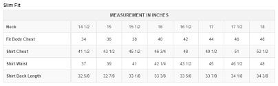 Paul Fredrick Size Chart How To Measure For Your Dress Shirt The Paul Fredrick Blog