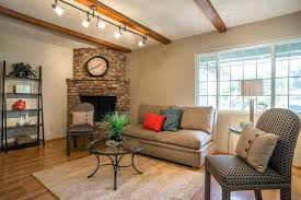 houzz lighting fixtures. Track Lighting Living Room Simple With Corner Fireplace And Fixtures Houzz T