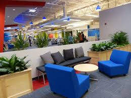 office seating area. Casual Seating Areas Throughout For Team Meetings - Practice Velocity Office Area