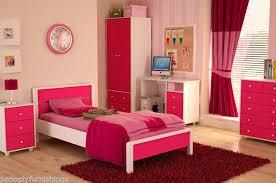 pink bedroom furniture. Exellent Pink Girls Pink Bedroom Furniture Miami Range  Wardrobe Bed Chest Bedside Desk  Set To EBay