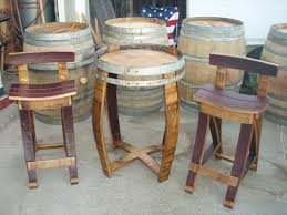 wood barrel furniture. An Element That Is Especially Popular Rusted Furniture And Fixtures. Wine Barrel Fits Perfectly Into This Delicate Genre. Wood L