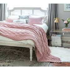 plushious velvet dusky pink bedspread french country style quilts french style quilts french style duvet covers